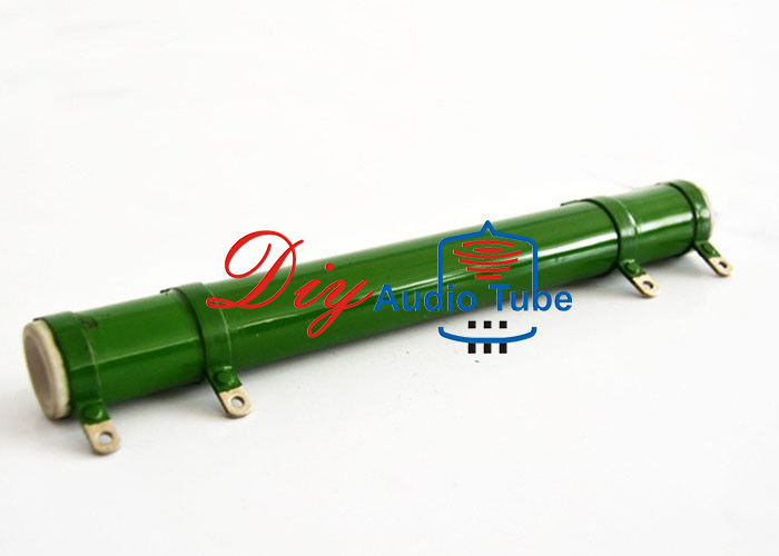 High Power Low Noise Resistor Surface Glazed Ceramic Tube 200W Rated Power
