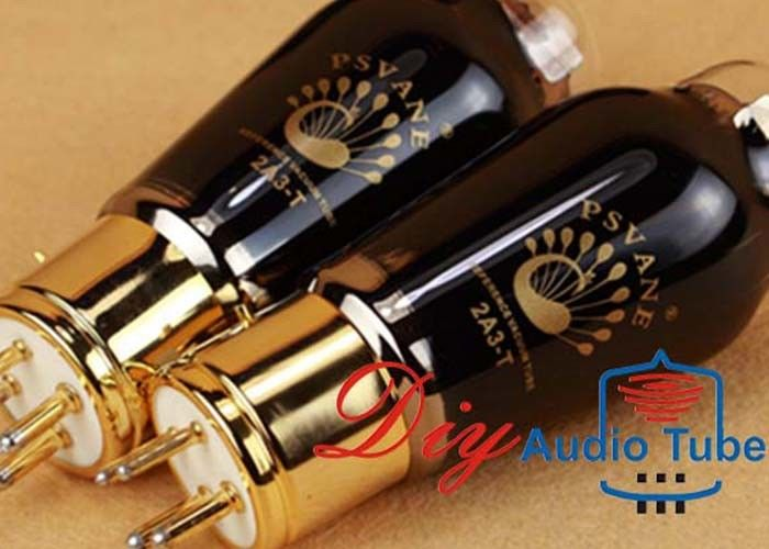 Long Lifetime Stereo Vacuum Tubes With Balanced Sound Performance PSVANE 2A3-T