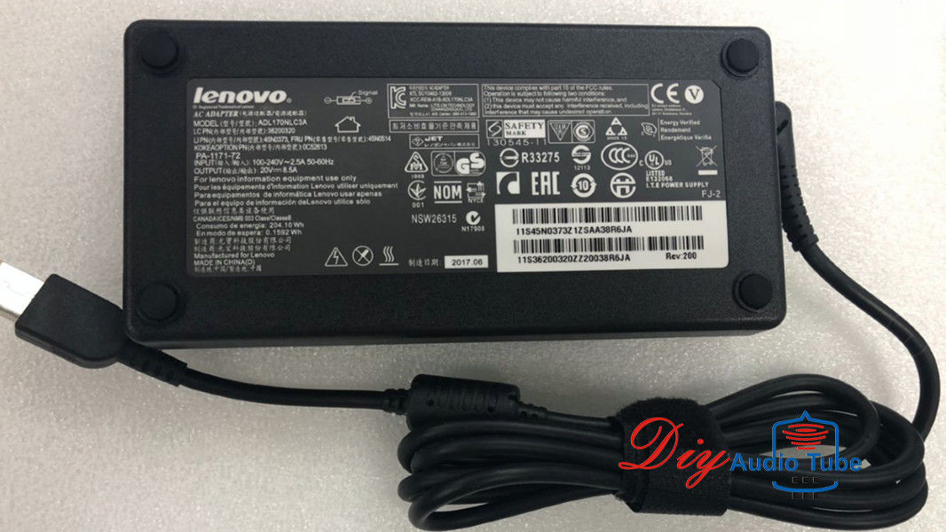 AC adapter Charger Lenovo ThinkPad T540P T550  W540 W541 W700 20V 8.5A 170W Power Supply
