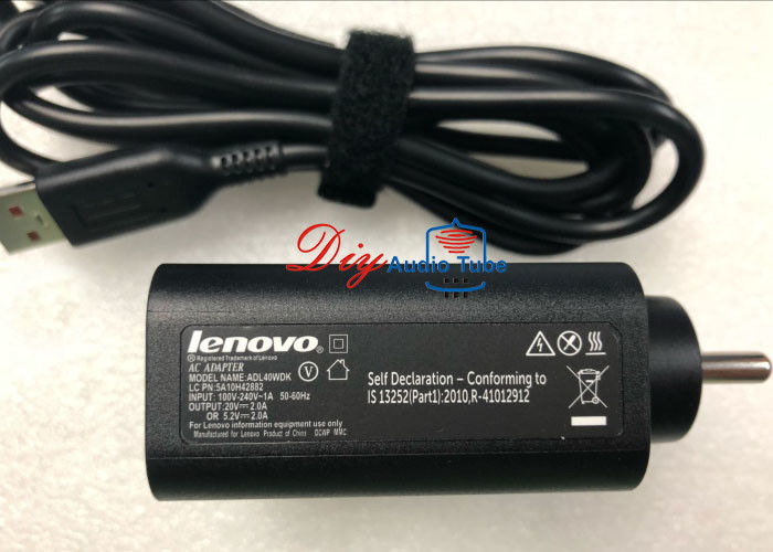 Portable DC 20V 5V 2A 40W USB Laptop AC Power Adapter Charger USB Cable for Lenovo Yoga3 Pro Yoga 3